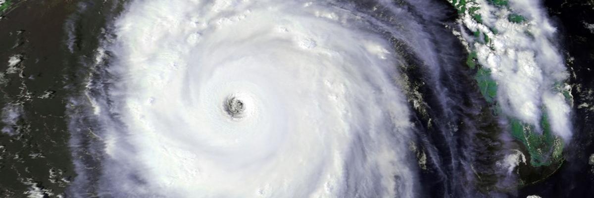 Hurricane Arial View
